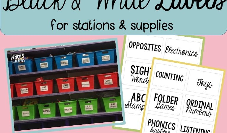 Organize Your Classroom – Easy Ideas and a Helpful Resource