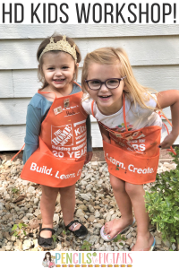 Home Depot Kids Workshop Experience