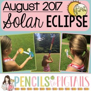 Great American Solar Eclipse 2017 Activities Viewers Writing