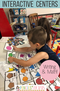 Interactive Math and Interactive Writing Centers