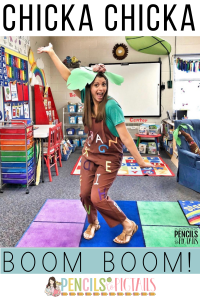 Chicka Chicka Boom Boom Teacher Costume, Activities, Projects, and More!