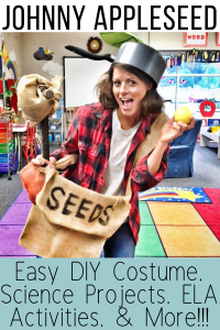 Johnny Appleseed Costume, Projects, Writing Prompts, Activities, & More!