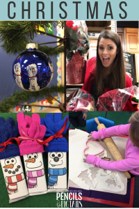Christmas Crafts, Free Student Gift Labels, Giving Activities, Ornament Keepsakes and More for the Classroom