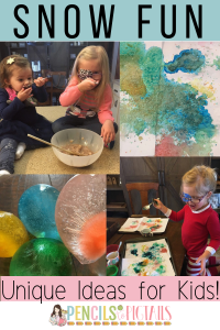 Snow Marbles, Snow Paint, Snow Cream, and More Fun Ways to Enjoy the Snow