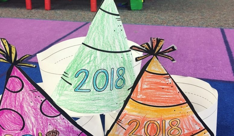 New Year's Resolutions with Young Children