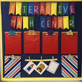 Say Goodbye to Wasted Bulletin Boards – My Interactive Writing & Math Centers