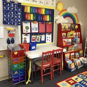 Interactive Math Center Organization