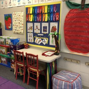 Interactive Writing Center Organization
