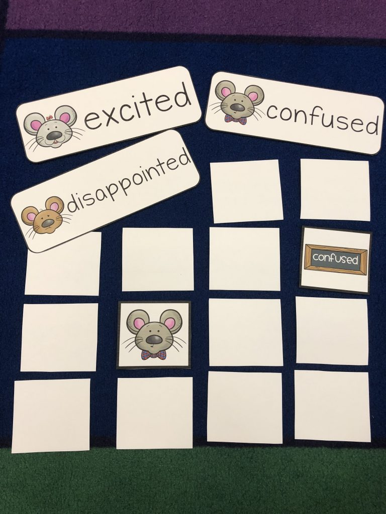 Mouse feelings memory game to go along with The Tooth Fairy and El Ráton Pérez resource