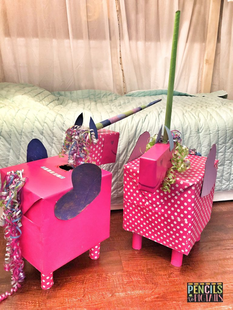 Valentine's Day Unicorn Boxes