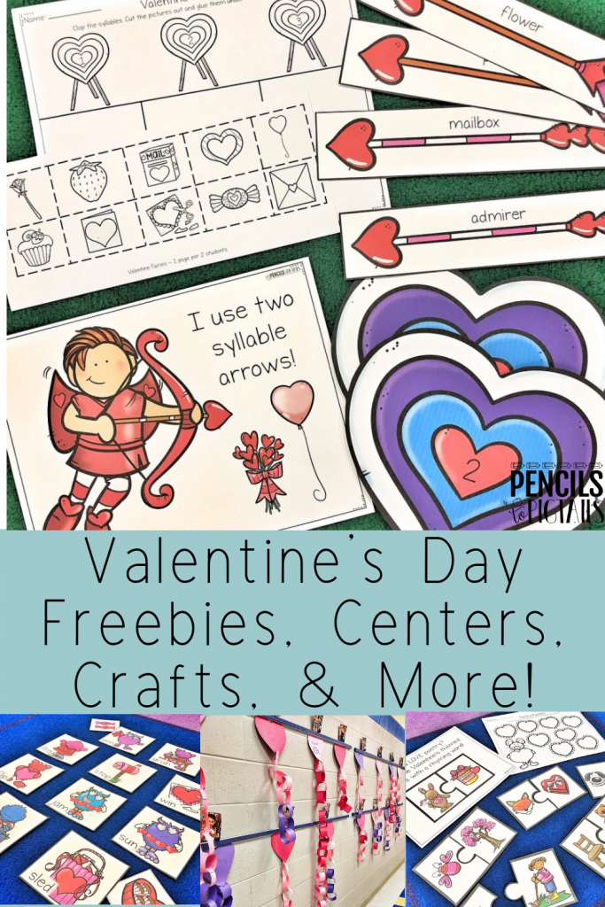 Valentine's Day Centers, Games, Freebies, and More