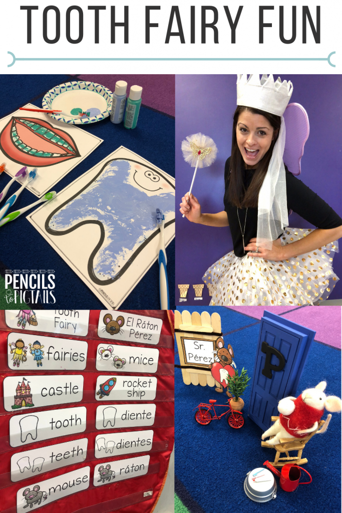 Tooth Fairy Unit, Toothbrush Painting Ideas, El Raton Perez STEM lessons, and more!