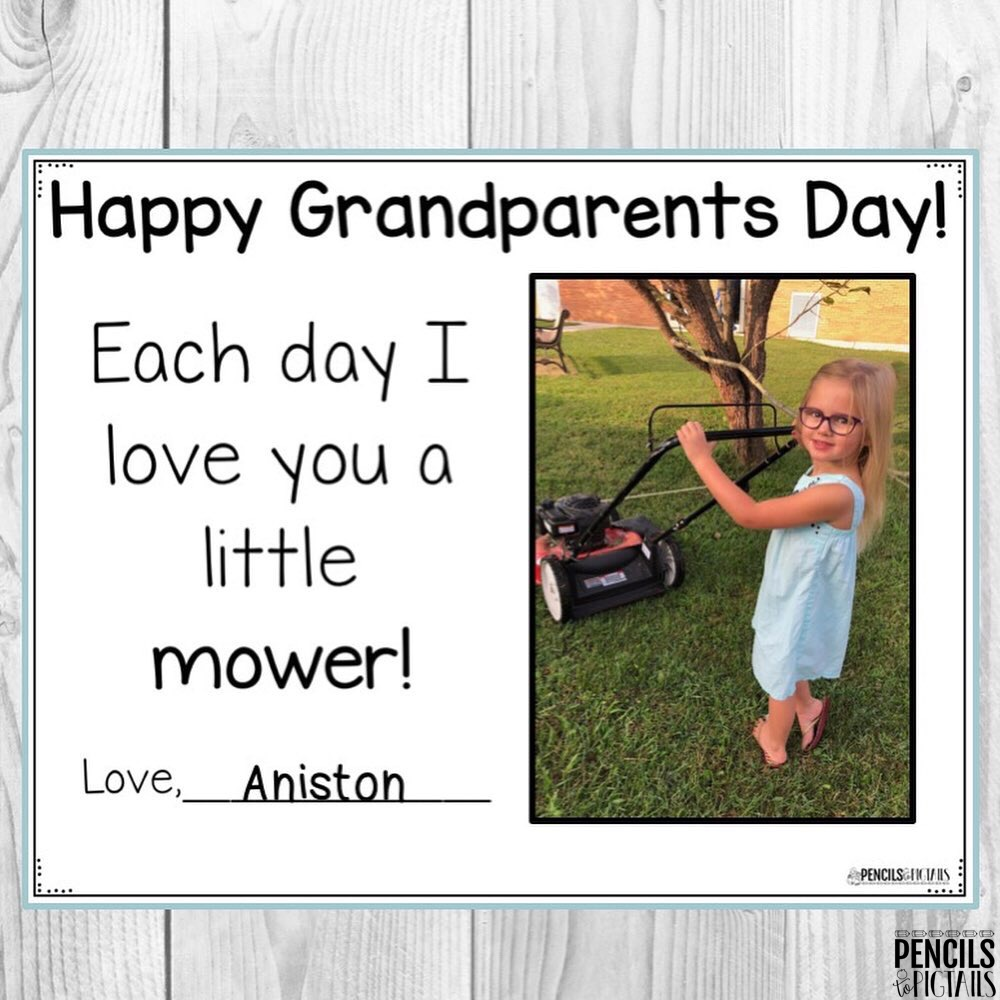 Grandparents Day Keepsake Craft