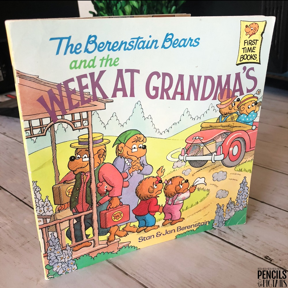 Berenstain Bears Week at Grandma's Book
