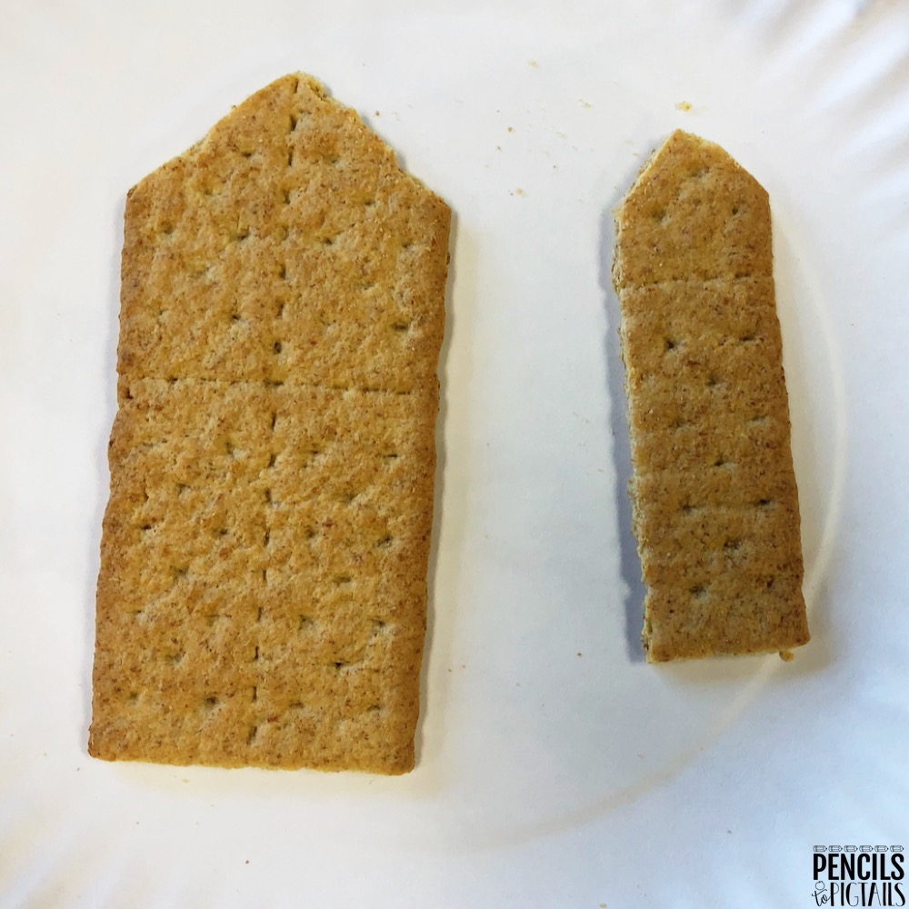 Graham Cracker Pencil Snacks