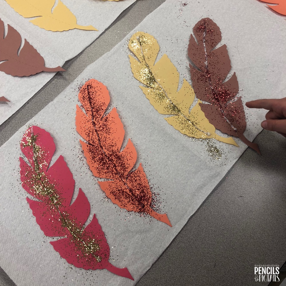 Feathers for Thanksgiving Turkey Costume