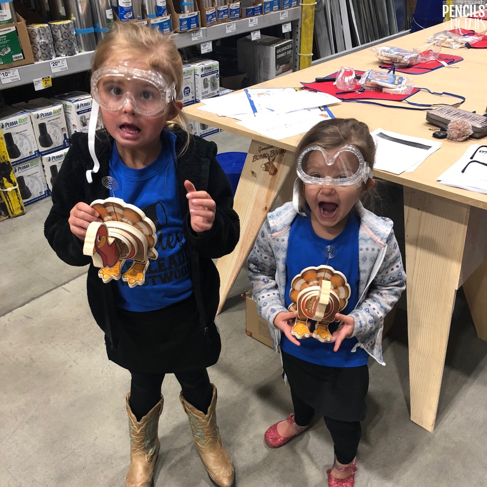 Lowes and Home Depot Kids Workshops