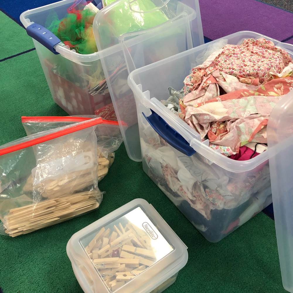 Craft Supplies for November STEM Project