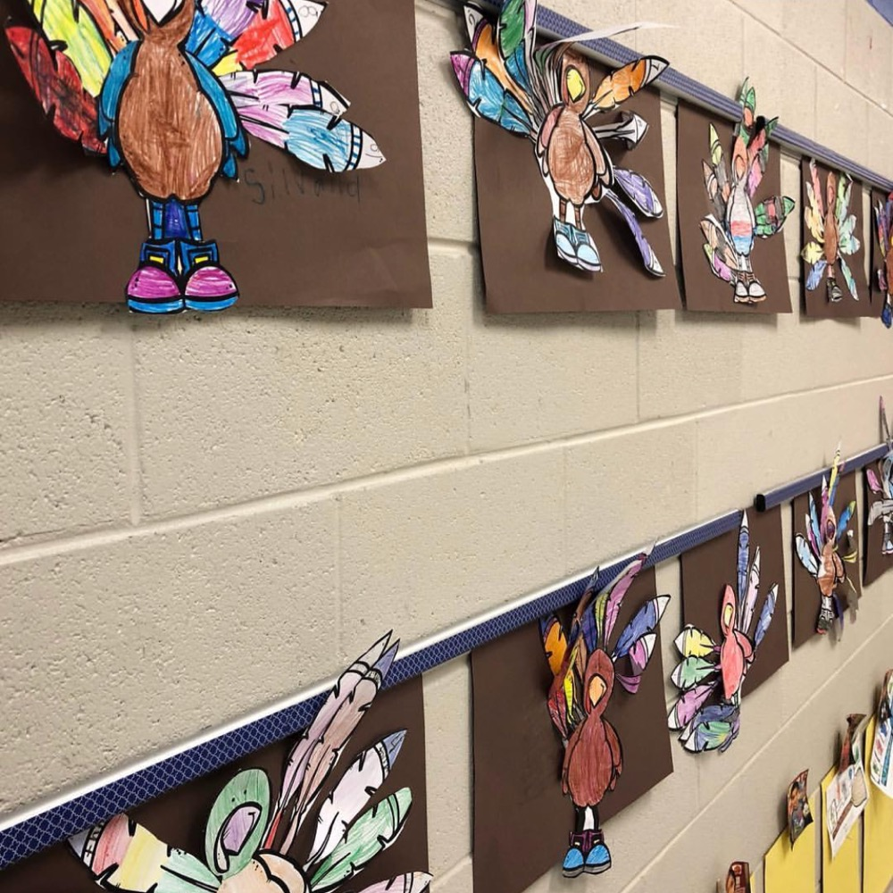 Turkey Display Craft for Number Recognition and Counting Practice