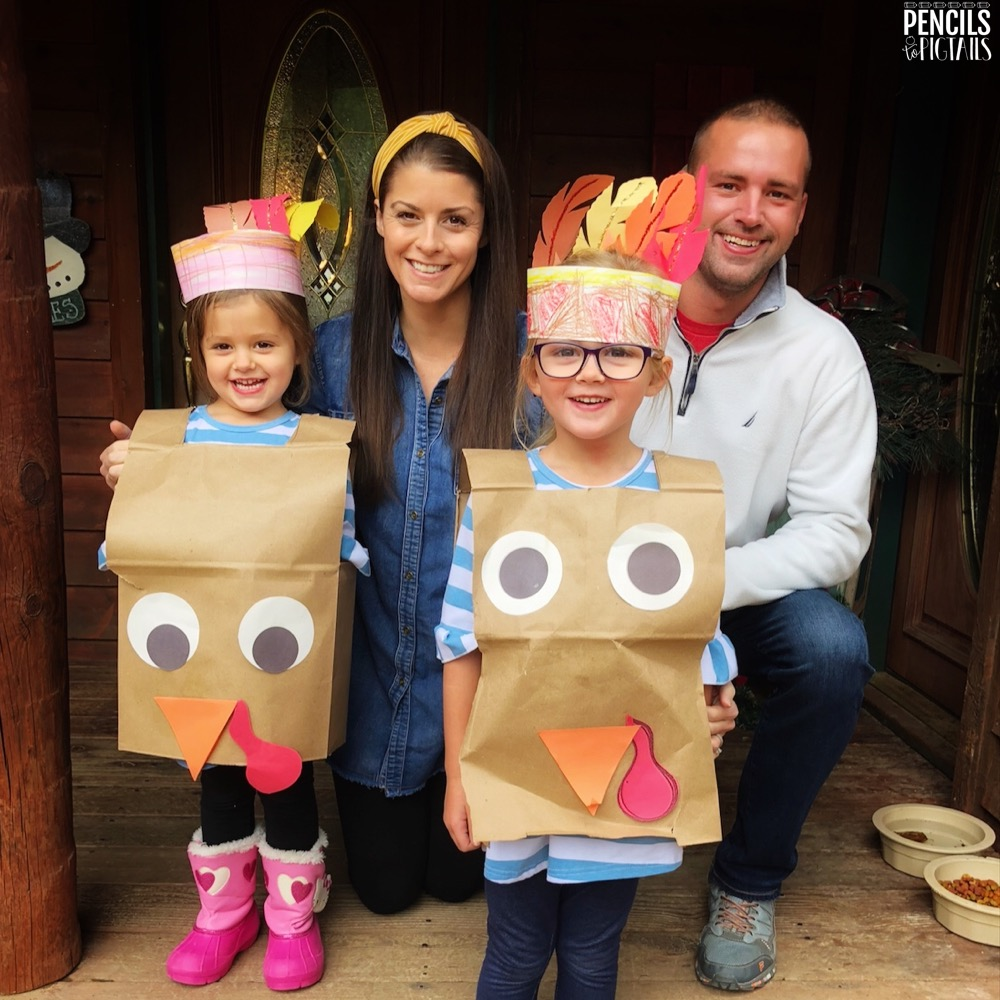 Turkey Costume Ideas for November