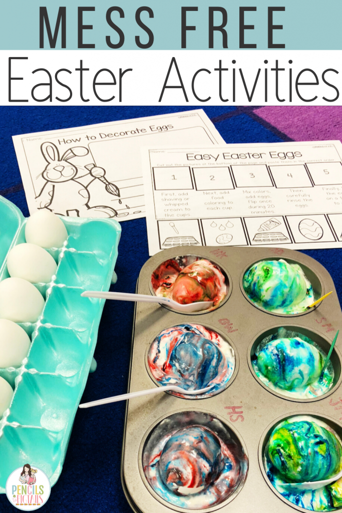 Easy Egg Dying using Muffin Tin