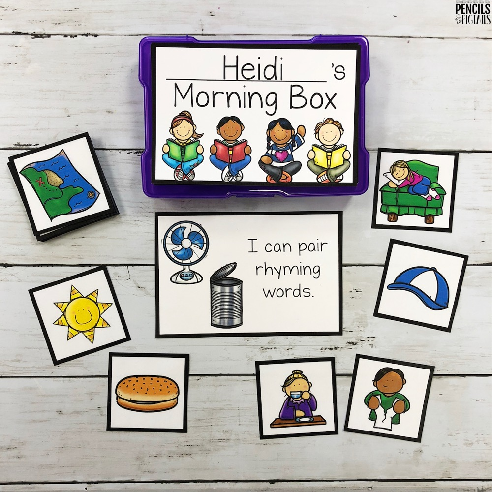 Differentiated Task Boxes