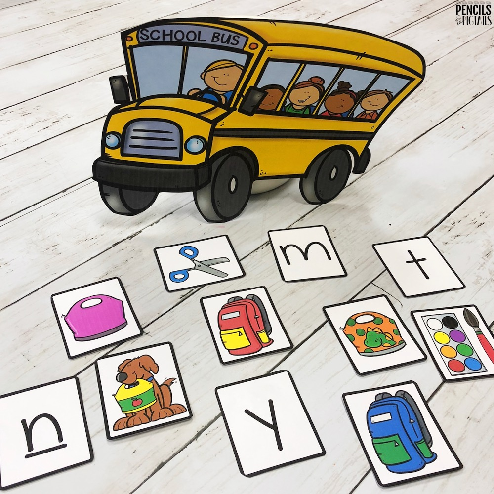 Pick a Card Games for Kindergarten