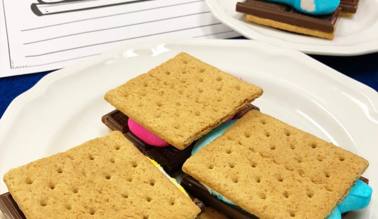 Unique Easter and Spring S'mores for the Classroom