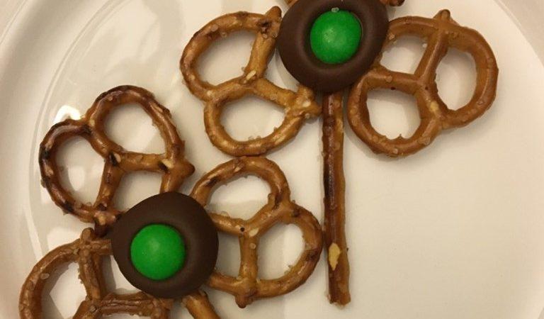 Easy St. Patrick's Day Clover Snacks