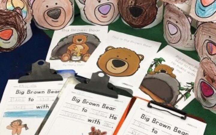Big Brown Bear – A Leveled Reader, Sight Word Practice, & Fun Activities
