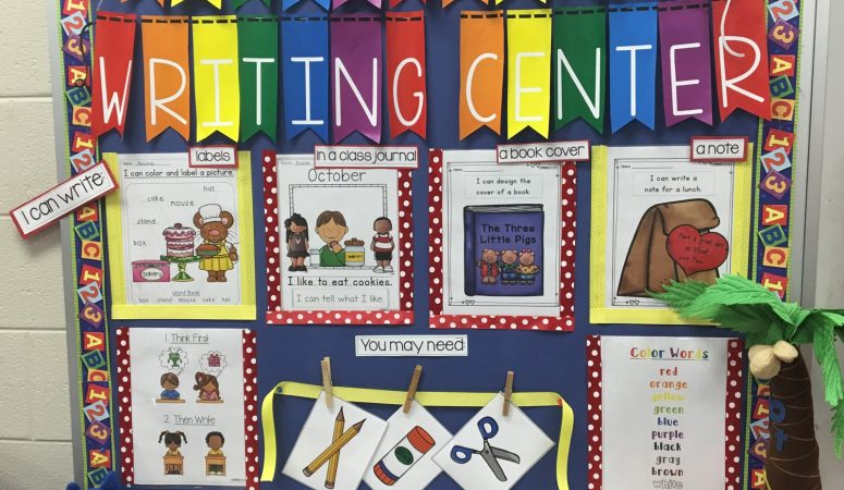 Interactive Writing and Math Centers – Newsletter, New Resource and a Freebie!!!