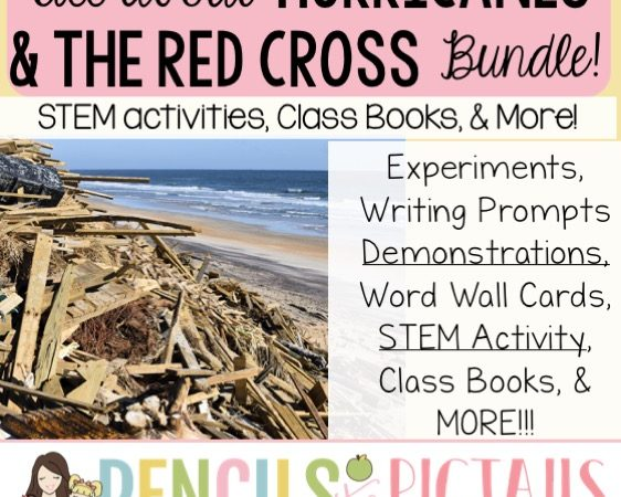 Hurricane STEM Activities, Experiments, Demonstrations, the Red Cross & More!