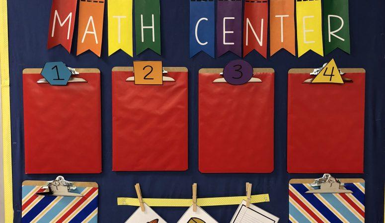 Goodbye Wasted Bulletin Boards – My Interactive Writing & Math Centers Organization & Setup Ideas Plus Teacher Hacks!