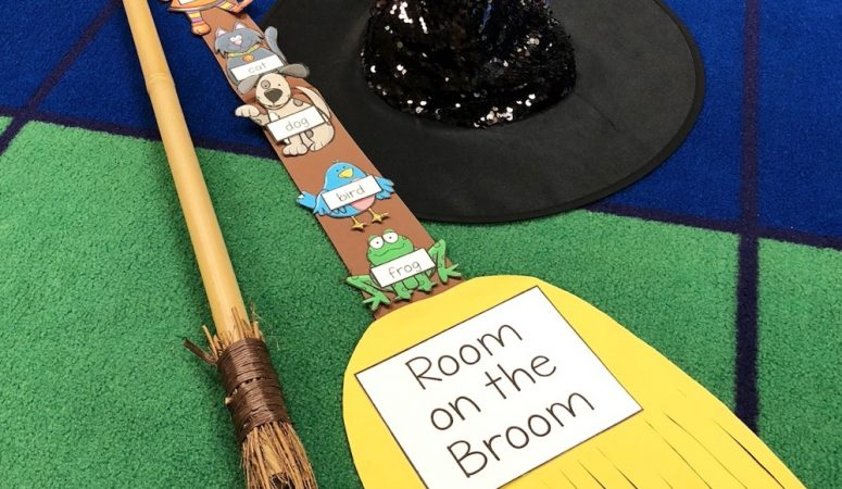 Room on the Broom Sequencing Freebie for Halloween